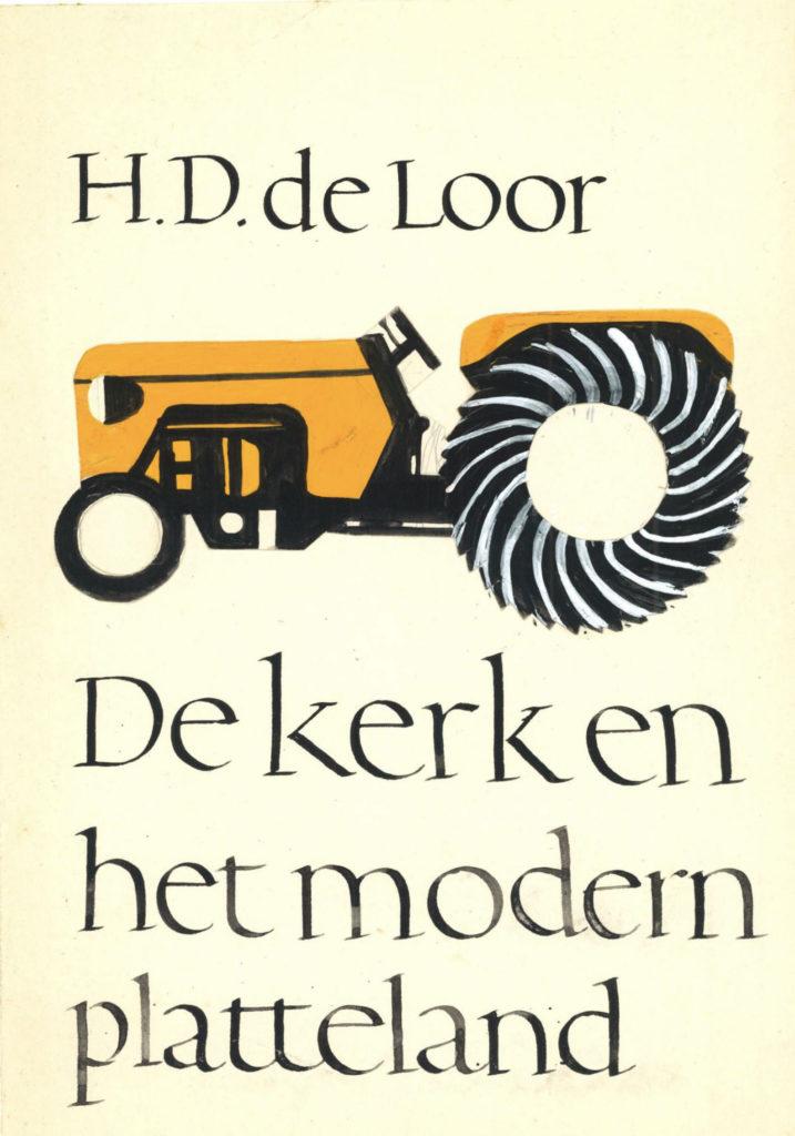 Gerrit Noordzij, omslagschets, 1963.